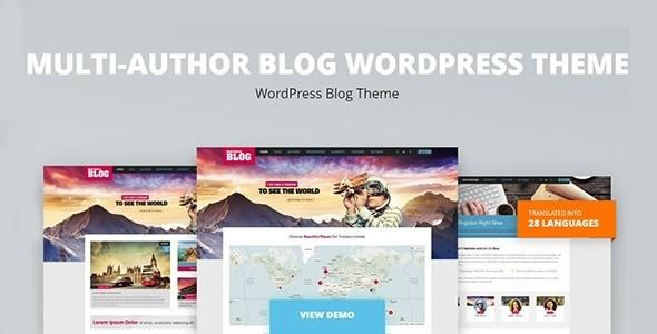 Multi-Author Blog WordPress Theme