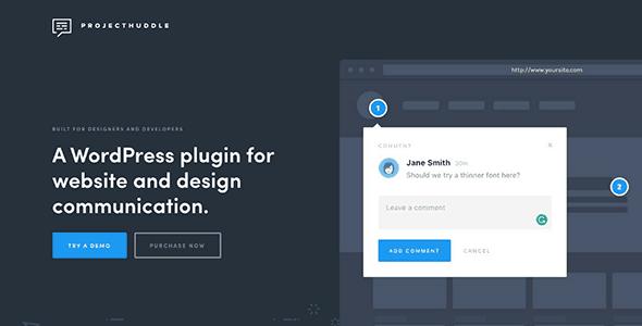 ProjectHuddle - A WordPress plugin for website & design feedback