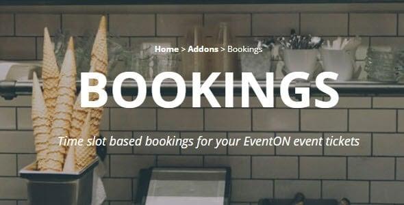 EventON - Bookings