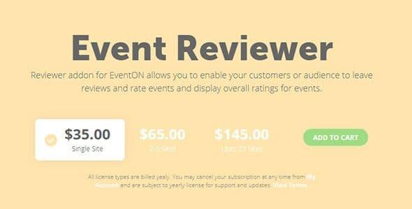 EventON - Event Reviewer
