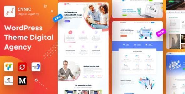Agency Cynic – Digital Agency & Startup Agency Theme