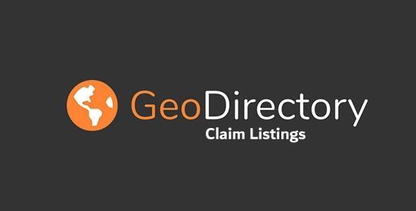 GeoDirectory Claim Listings