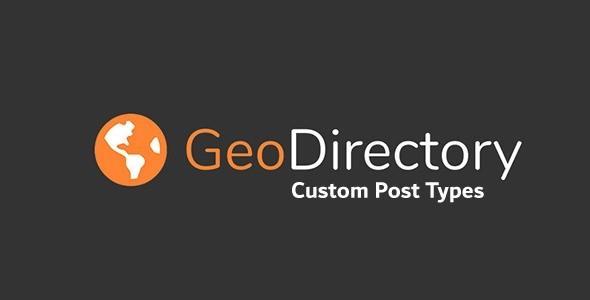 GeoDirectory Custom Post Types