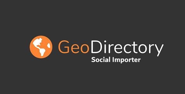 GeoDirectory Social Importer