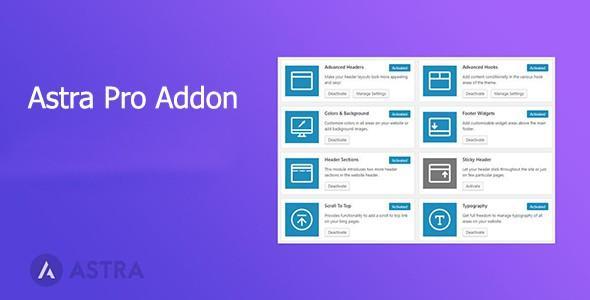 Astra Pro Addon