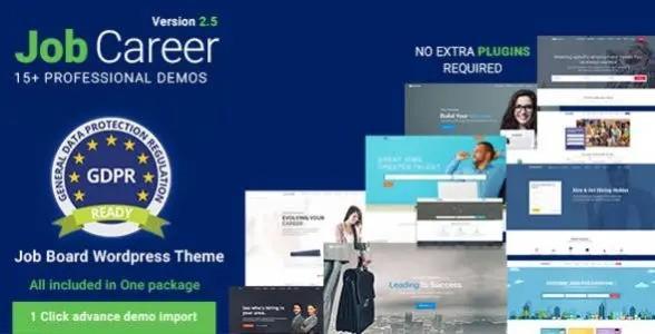 JobCareer - Job Board Responsive WordPress Theme