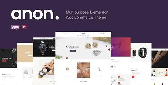 Anon – Multipurpose Elementor WooCommerce Themes