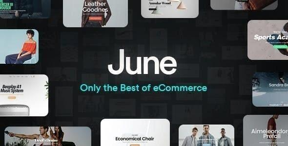 June - WooCommerce Theme