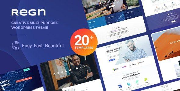 Regn | Modern Multi-Purpose WordPress Theme