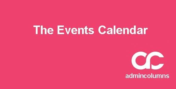 Admin Columns Pro - The Events Calendar