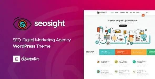 Seosight – SEO, Digital Marketing Agency WP Theme