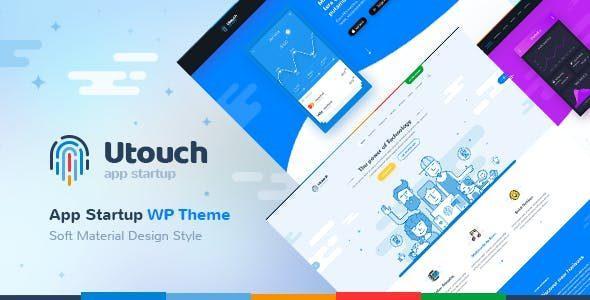 Utouch – Startup Business and Digital Technology WordPress Theme