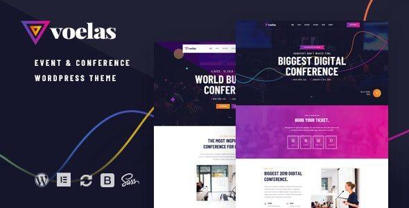 Voelas – Event & Conference WordPress Theme