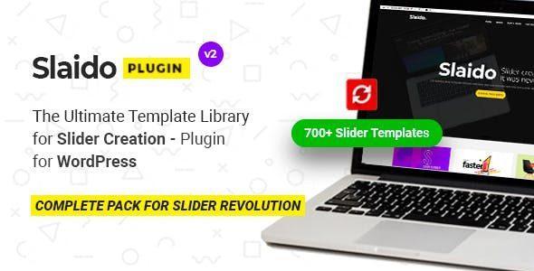 Slaido – Template Pack for Slider Revolution WordPress Plugin
