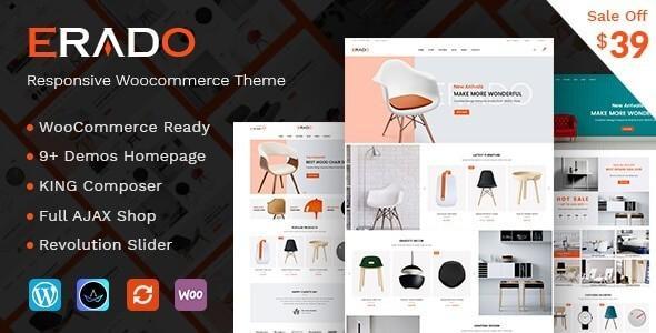Erado – eCommerce WordPress Theme