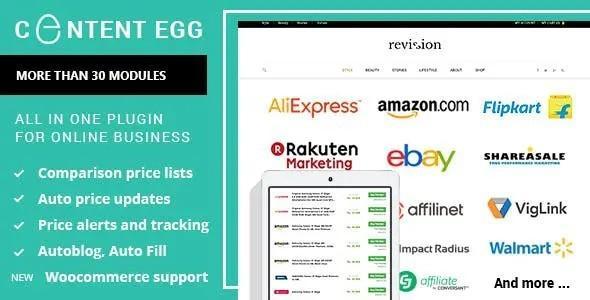 Content Egg Pro – Plugin for Affiliate, Price Comparison, Deal sites