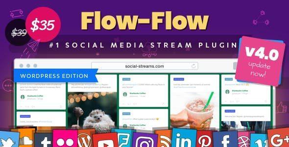 Facebook Instagram Twitter Feed | Flow-Flow