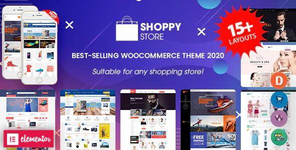 ShoppyStore - Multipurpose Elementor WooCommerce WordPress Theme