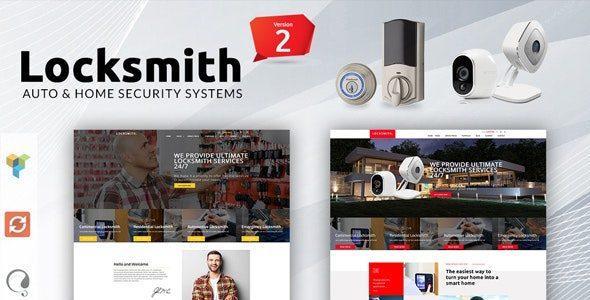 Locksmith – Security Systems WordPress Theme