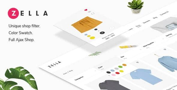 Zella – WooCommerce AJAX WordPress Theme