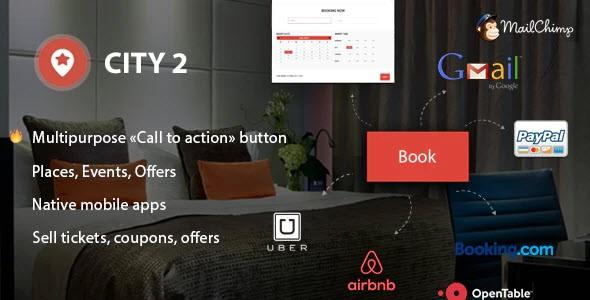 City2 - Multipurpose Directory WordPress Theme