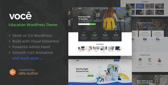 Vocee – Education & LMS WordPress Theme
