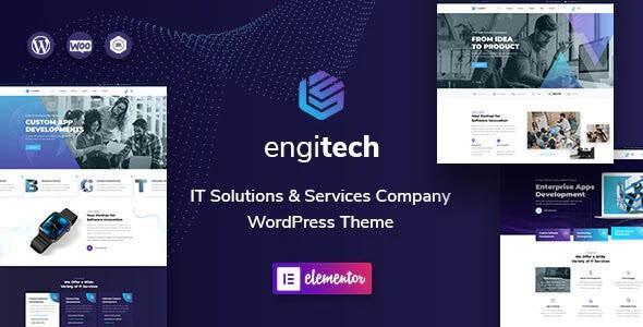 Engitech - IT Solutions & Services WordPress Theme