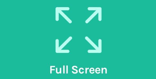 OceanWP Full Screen