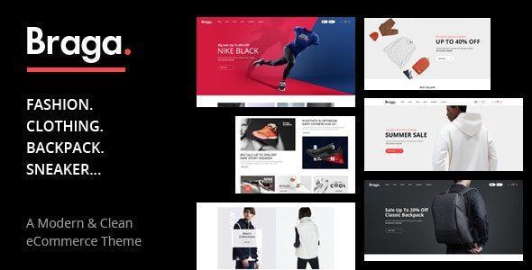 Braga – Fashion Theme for WooCommerce WordPress
