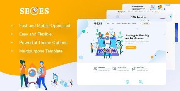 Seoes – Marketing Agency WordPress Theme