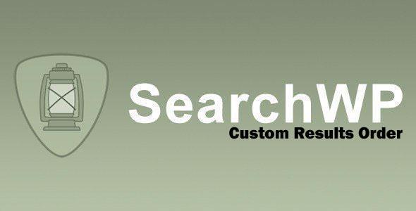 SearchWP - Custom Results Order