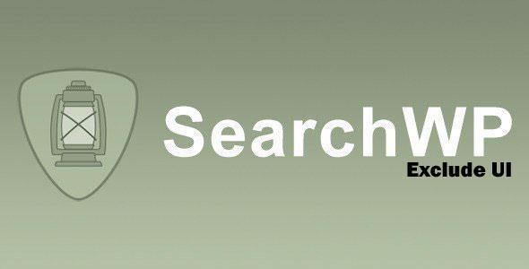 SearchWP - Exclude UI