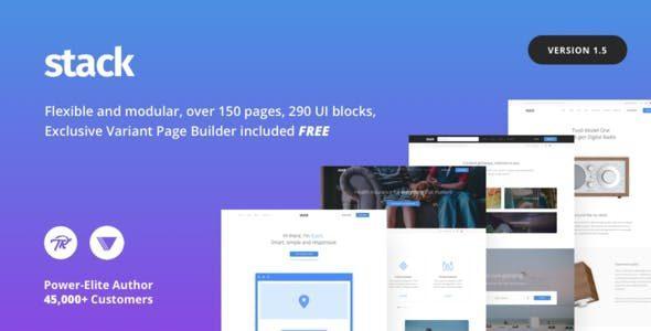 Stack – Variant Page Builder & Visual Composer