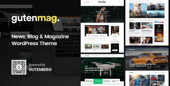 GutenMag – Newspaper, Magazine Theme