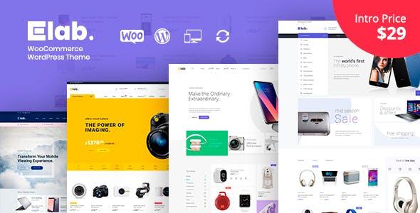 eLab – Electronics Shop WordPress Theme