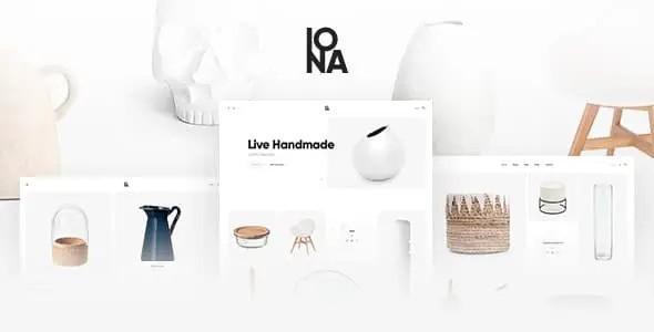 Iona - Handmade & Crafts Shop WordPress Theme