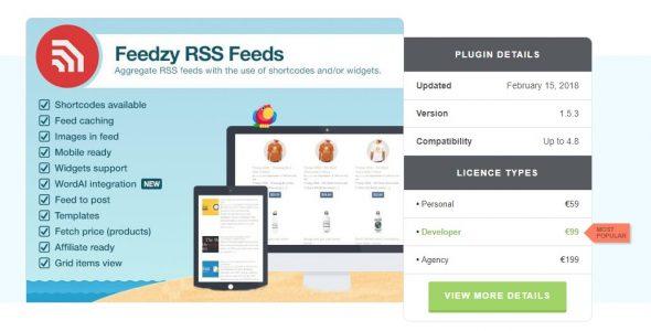 Feedzy RSS Feeds Premium