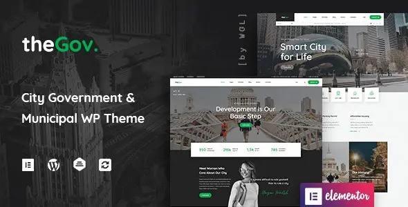 TheGov – Municipal and Government WordPress Theme