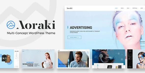 Aoraki - Multi-Concept Business WordPress Theme