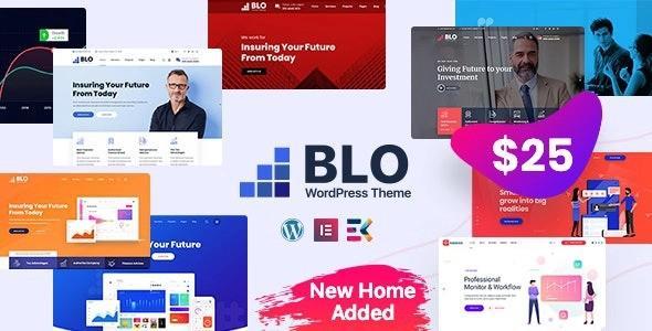 BLO – Corporate Business WordPress Theme