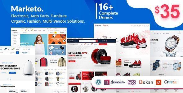 Marketo – eCommerce & Multivendor A WooCommerce WordPress Theme