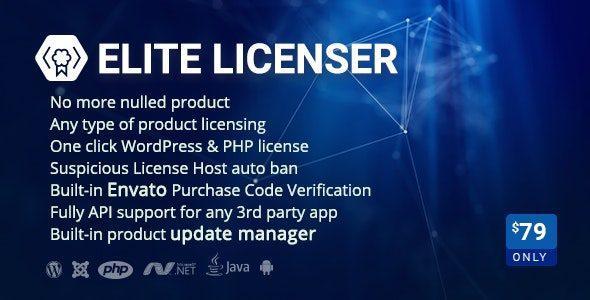 Elite Licenser - License Manager For Any Product