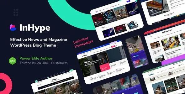 InHype – Blog & Magazine WordPress Theme