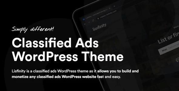 Lisfinity - Classified Ads WordPress Theme