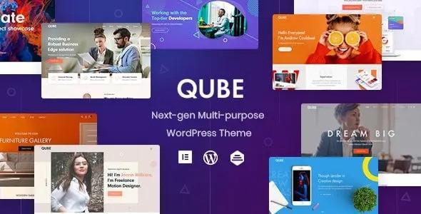 Qube - Responsive Multi-Purpose Theme