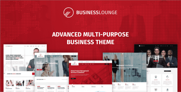 Business Lounge - Multi-Purpose Consulting & Finance Theme
