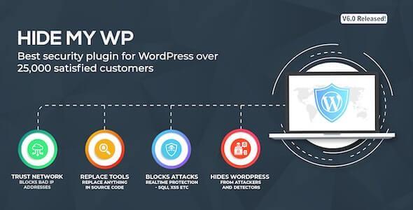 Hide My WP - Amazing Security Plugin for WordPress