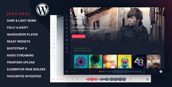 Rekord – Ajaxify Music – Events – Podcasts Multipurpose Theme
